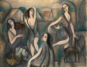 776px-Marie_Laurencin,_1910-11,_Les_jeunes_filles,_Jeune_Femmes_(Young_Girls),_oil_on_canvas,_115_x_146_cm,_Moderna_Museet,_Stockholm